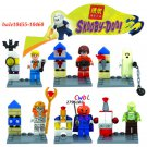 Halloween Bela Scooby Doo Fred/Shaggy building blocks action figure sets model Lego Compatible Toys