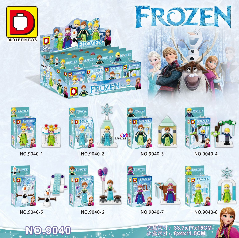 Movie Ice Princess Girl Friends building blocks action figure Lego Compatible Minifigures Toys
