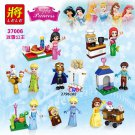 Girl Friends Ice Princess Anna Elsa figures bricks for girl house Lego Minifigures Compatible toys