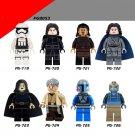 Star wars R2D2 Luke Anakin Skywalker Darth Vader models building blocks bricks toys for children