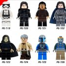 Star Wars 7 sets Han Solo Kylo ren storm troops Lego Minifigures Compatible Toys