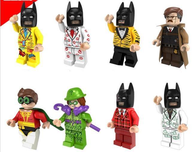 Batman movie Series DC Movie Robin Minifigures Lego Compatible Toys