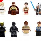Star Wars Sets Princess Leia luke skywalker Mace Windu Lego Minifigures Compatible Toys