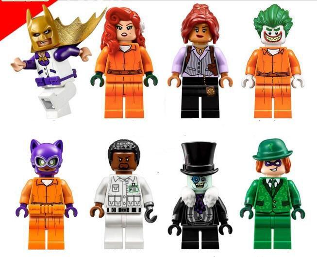 Joker Catwoman constellation Batman Movie Minifigures Lego Compatible Toys