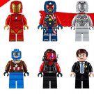 Marvel Red She-hulk Super-Adaptoid Iron Man Coulson Minifigures Lego Compatible Toys toys