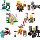 Baseball player Series Collection model minifigures Lego Compatible Toys