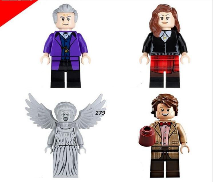 The Beatles John Lennon Doctor Who Collectible Minifigures Building Lego Compatible Toys