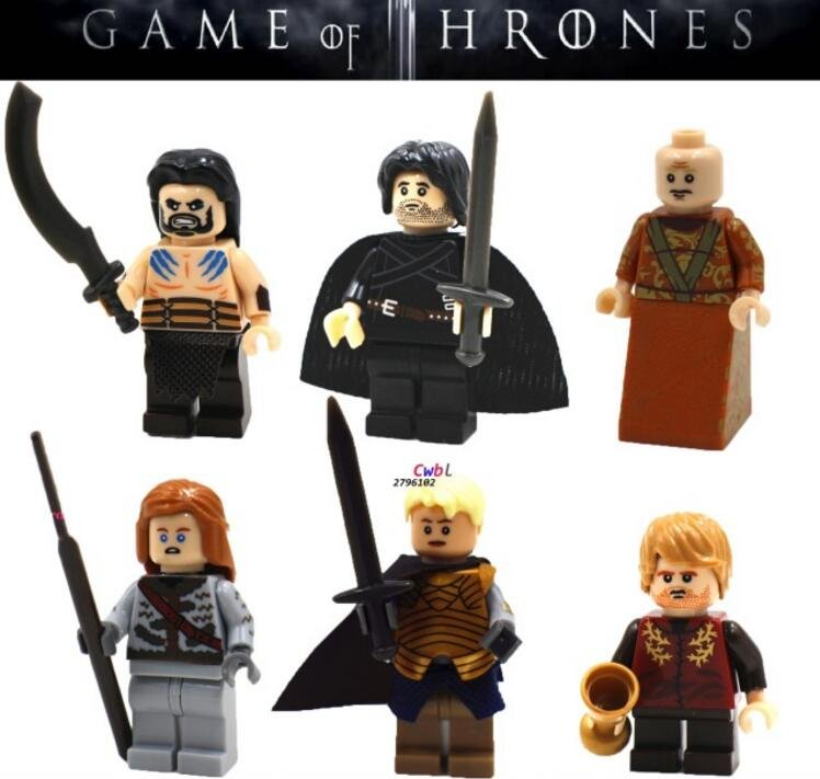 Game of Thrones Collection  Sets for sale Lego Minifigures Compatible Toys