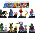 Crystal Hulk Batman Spiderman Lego Minifigures Compatible Toy