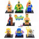 Spongebob sets Big Star Squarepants minifigures Lego Compatible Toys