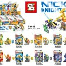 Castle Kingdoms Knights Knight Weapons Minifigures Lego Compatible Toys