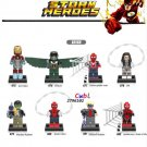 Marvel Spider-Man Homecoming Iron Man VS Vulture minifigures Lego Compatible Toys