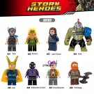 Marvel Thor Ragnarok Loki Jane Foster Grandmaster minifigures collectible Lego Compatible Toys