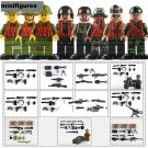 Military Sets Blood War soldiers  Lego Military Compatible minifigures toys