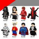 X-Men sets Apocalypse Wolverine Professor  Superheroes X-Men minifigures Lego Compatible Toys