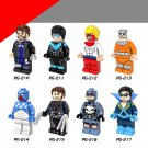 Marvel The Flash Captain boomerang DC minifigure Lego Compatible Toys DC Superheroes