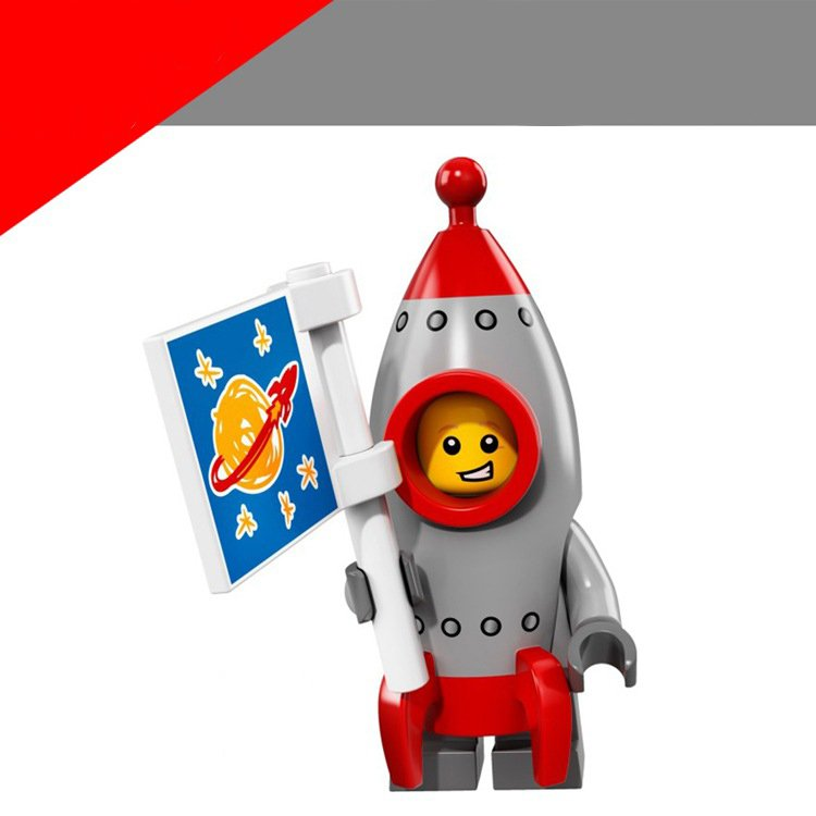 Rocket Boy Lego Minifigure Series 17 Compatible Toys