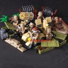 American Soldiers WW2 1943 Battle of Tunisia Lego Soldiers ww2 Compatible Toys