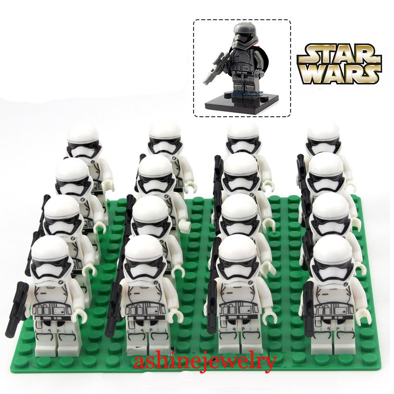 Clone Trooper army Star Wars White Clone minifigures Trooper Lego Compatible Toy