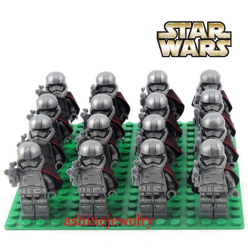 Star Wars Clone Trooper lot Clone Commando Gray group Lego Compatible Toys