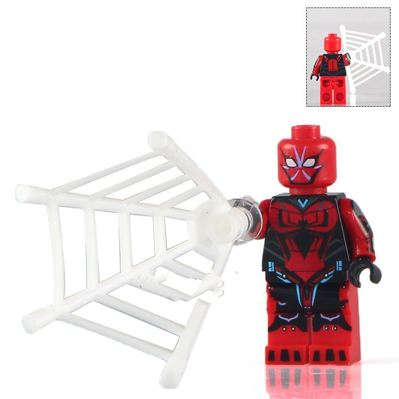 Marvel heroes Spiderman minifigures Lego Compatible Toys