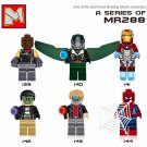 DC Superhero sets Iron Man Ant man Spaderman minifigures Lego Soldiers Compatible Toys