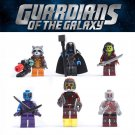 Guardians of the Galaxy 1 Star-Lord Kamola Thanos minifigures Lego Compatible Toys