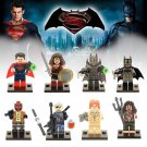 Batman sets 2017 Superhero Movie Wonder woman Superman Lego minifigures Compatible Toys