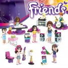 Friends Singing sets Competition Andrea Livi Lego minifigures Compatible Toys