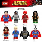 SDCC2017 DC minifigures Superman,Aquaman,Wonder Woman Lego Compatible Toys
