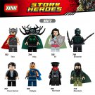 Thor 2 Movie minifigures Thor,Hela,Sif,Red Skull Lego Compatible Toys