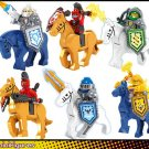 Nexo Knights sels Crae Macey Steed minifigures Lego Compatible Toys