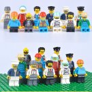 City Sets Minifigures Doctor Bus Driver Workers Pilot Lego Compatible Minifigs