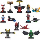 DC Marvel Superheroes Batman Iron Man Decisive battle Lego minifigures Compatible Toys