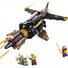 Ninjago Movie sets Manta Ray Bomber Lego minifigures Compatible Toys