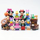 Duck Mouse minifigures Lego Disney sets Compatible Toys