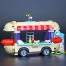 Girl Amusement Park Hot Dog Van Compatible Lego Girls Sets