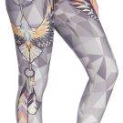 Haliaeetus leucocephalus Womens Leggings Quick Drying Sports Jogging Tight Pants for Ladies