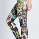 Summer Jungle Leggings Yoga Gym Fitness Pants