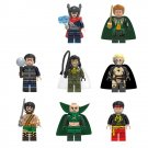 Superhero sets Jane Foster,Hogan,Razer minifigures Lego Compatible Toy