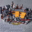 German Soldiers 8 minifigures set Lego compatible, Nazy military World War figures