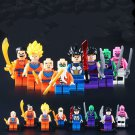 Dragonball Z Dragon Ball Goku Vegeta Piccolo DBZ Minifigure Lego Compatible Toy