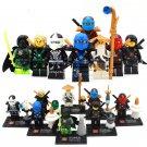 Ninjago episodes minifigures Kai Jay Zane Nya Lego Compatible Toys