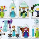 Frozen Movie sets Princess Aisha Anna Minifigures Lego Compatible toy