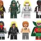 DC Superhero Green Arrow sets minifigures Lego Compatible Toy