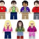 The Big Bang Theory sets Leonard,Sheldon Minifigures Lego Compatible Toys