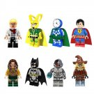 Superhero sets Lokey Superman Batman minifigures Lego Compatible Toys