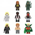 DC Justice League Superhero Arrow Season Green Lantern minifigures Lego Compatible Toys
