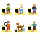 Scooby Doo Fred Jones Daphne Blake Shaggy Rogers Compatible Lego Minifigures
