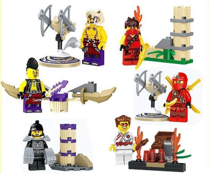 Ninjago Sets Minifigures Kay�Sonic master Lego Compatible Toys